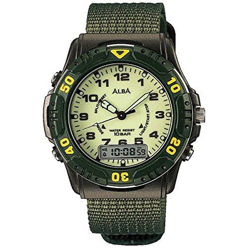 Alba deportes Digital numérico y virtual analógica reloj de Hombre Tipo apeq057: Amazon.es: Relojes