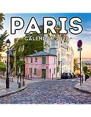 Paris Calendar 2022: 16-Month Calendar, Cute Gift Idea For France Lovers Women & Men