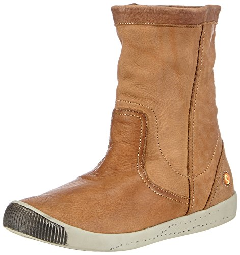 Leather Doublure Braun Marron Softinos Bottes Femme intérieure avec Brown Iggy Washed Courtes 002 EvwqYBHw