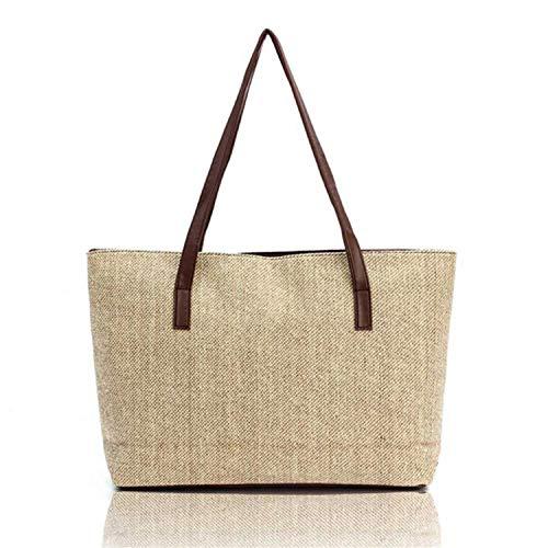 Totes Ladies Tracolla Borsa Sunonip Mano Casual Shopping Da Di Clutch Lino A Donna Moda Borse apwq4gZ