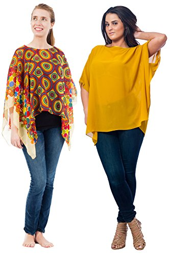 - Women's Poncho Combo Packs, One Size (S-2X), Style Special-17OneSizeCombo6