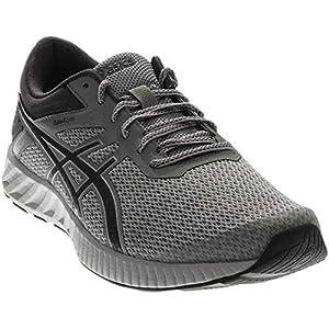 ASICS Men's Fuzex Lyte 2 Running Shoe, Mid Grey/Carbon/White, 10.5 M US