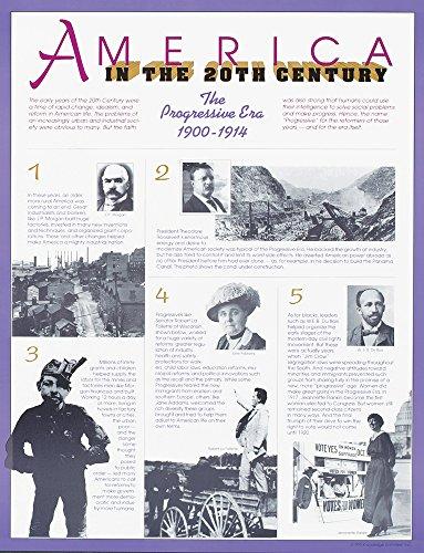 America in the 20th Century - The Progressive Era 1900-1914 -Poster