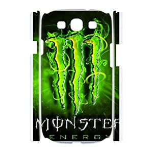 Samsung Galaxy S3 I9300 Phone Case Monster Energy W9S20838