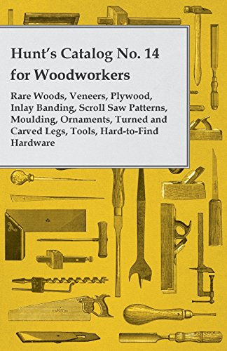 4 for Woodworkers - Rare Woods, Veneers, Plywood, Inlay Banding, Scroll Saw Patterns, Moulding, Ornaments, Turned and Carved Legs, (Decorative Turned Legs)