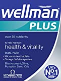Vitabiotics Ltd Vitabiotics Wellman Plus, 56 Tablets/Capsules