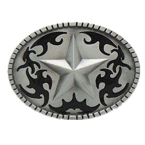 Western Cowboy Texas Deputy Sheriff Badge Star Belt Buckle Boucle De Ceinture -