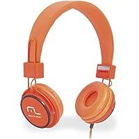 Fone De Ouvido Multilaser Com Microfone Headfun Laranja P2 - PH086