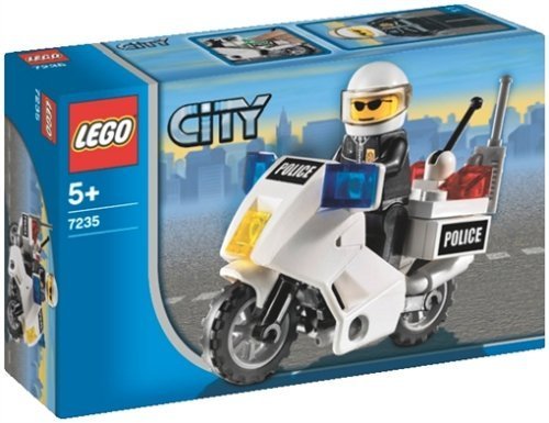 LEGO City Police Motorcycle 7235]()