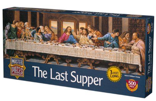 Last Supper Jigsaw Puzzle 500pc