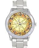Wildlife Deer Unisex Stainless Steel Wrist Watch