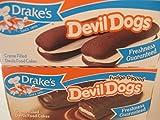 Drake's Fudge Dipped Devil Dogs & Drakes Devil Dogs Combo Bundle.