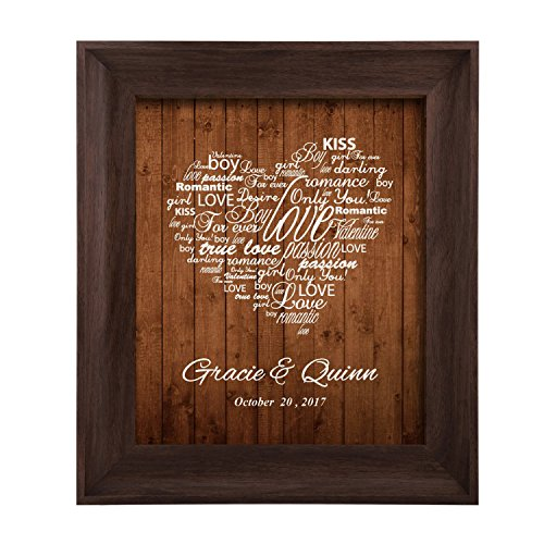 Homokea Wedding Gifts For The Couple Unique Anniversary Gifts Personalized Wedding Gift by Homokea