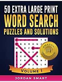 Amazon words language grammar books linguistics study 50 extra large print word search puzzles and solutions easy to see full fandeluxe Images