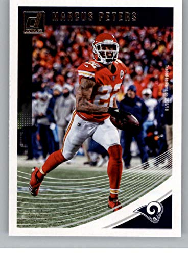 2018 Donruss Football #144 Marcus Peters Los Angeles Rams Official NFL Trading Card