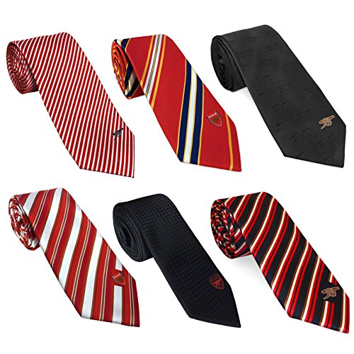 Arsenal Football Club Official Soccer Gift Club Crest Tie