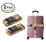 SWEET TANG Design Luggage Strap Adjustable Lock Fancy English Bulldogs