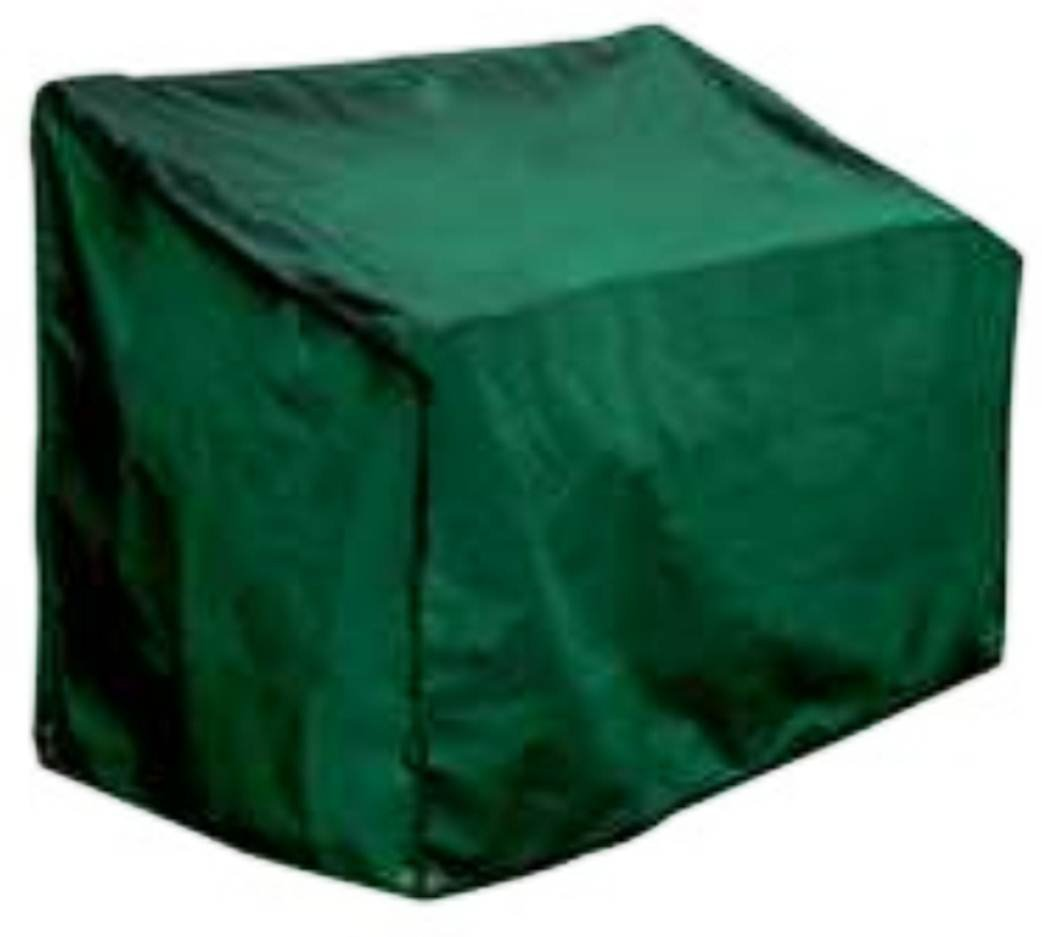 Bosmere Wicker Love Seat Cover, 58 Long x 36 Deep x 36 High, Green C644