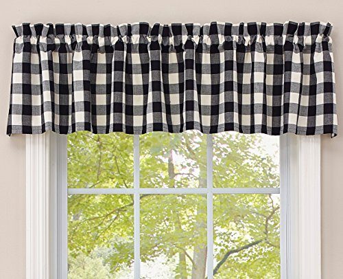 Park Designs Buffalo Check Lined Valance