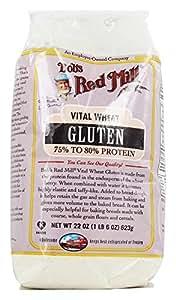 Amazon.com: Bob's Red Mill, Vital Wheat Gluten Flour, 22