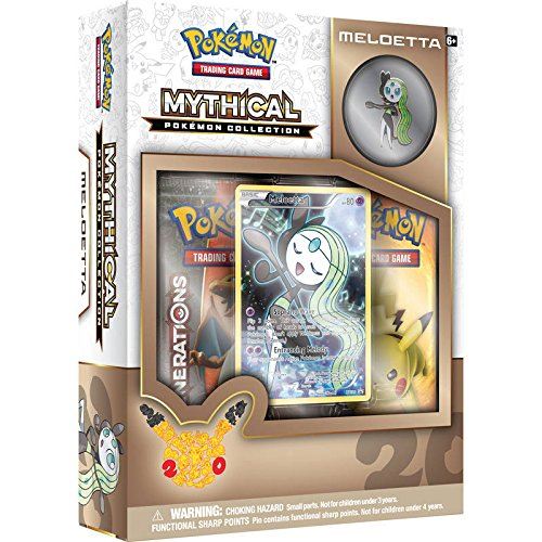 Booster Generations (TCG: Mythical Pokemon Meloetta Collection)