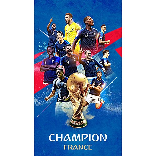 EMG Witness the history, let us cheer the French football team to win the 2018 World Cup. New launch, HD commemorative poster, remember this moment together