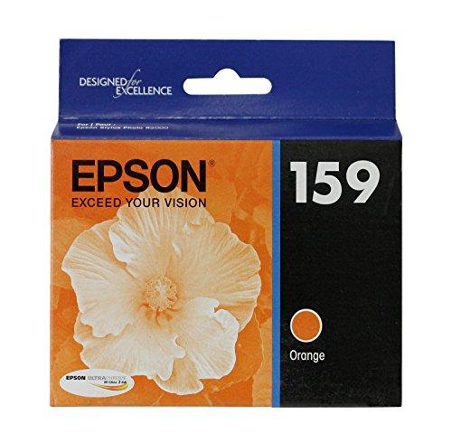 Hi Gloss 2 Photo (Epson T159920 OEM Ink - (159) Stylus Photo R2000 UltraChrome Hi-Gloss 2 Photo Orange Ink Cartridge OEM)