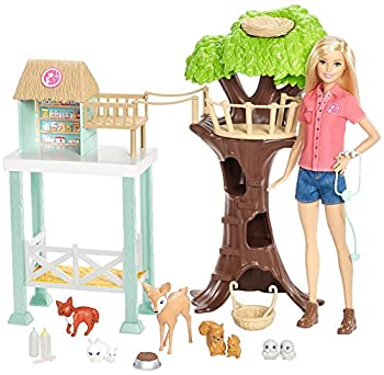 Barbie Animal Rescuer Doll & Playset 7