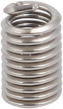 uxcell #4-40x0.336 304 Stainless Steel Helical Coil Wire Thread Insert 12pcs