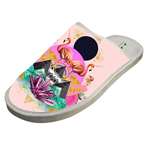 Heiyoua Warm Winter House Slippers Animal Flamingo for sale  Delivered anywhere in USA