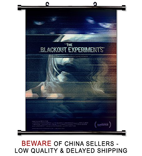 The Blackout Experiments Movie 2016 Fabric Wall Scroll Poster (32x 48) Inches