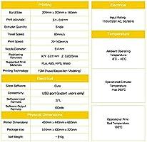 NQ Spirit 3d impresora Prusa I3 DIY Profesional LCD Pantalla 100 ...