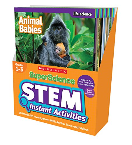 (SuperScience STEM Instant Activities: Grades 1-3: 30 Hands-On Investigations With Anchor Texts and)
