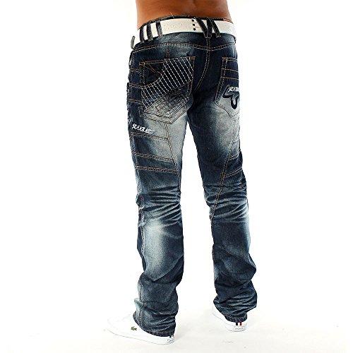 Jeans coloré Galaxy ID1097 Men Regular Fit (de jambe droite)