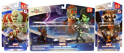 Disney Infinity 2.0 - Guardians of the Galaxy Playset Bundle (3-Pack) - Disney Guardians Of The Galaxy
