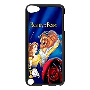 Custom Beauty And Beast Back Cover Case for ipod Touch 5 JNIPOD5-488