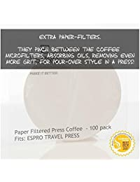 Espro Travel Press Paper Filters 1008Pf-100, Set Of 100 Advantages
