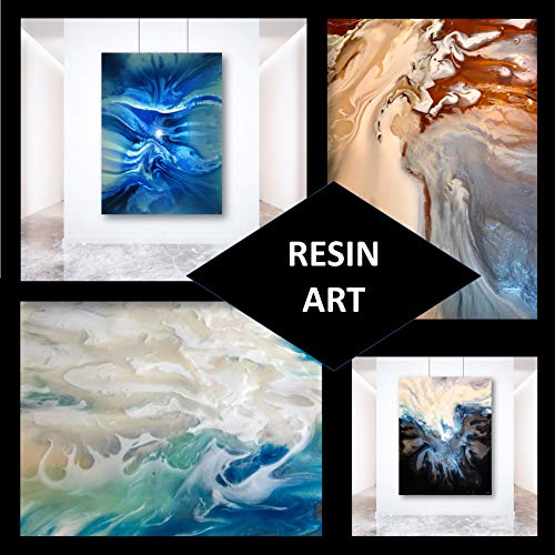 Crystal Clear- Art Resin Epoxy - The Artist's Resin for Coating, Casting, Resin Art, Geodes, Tabletop, Bar Top, Live Edge Tables, River Tables- Non-Toxic -1 Gallon Kit by Naked Fusion Resin (Image #3)