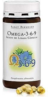 Omega 3-6-9 Cápsulas (Aceite de Linaza) – 180 Cáspulas