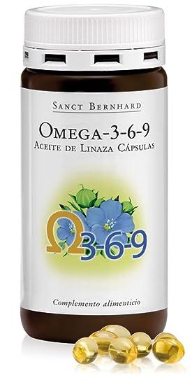 Omega 3-6-9 Cápsulas (Aceite de Linaza) - 180 Cáspulas: Amazon.es: Deportes y aire libre