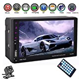"Eaglerich 2 din Car radio 7"" Touch Screen Car MP5 MP4 Bluetooth hands free FM/TF/USB GPS Android Phone Mirror Link 12v with rear view camera"