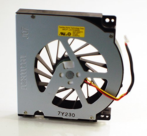 (New Genuine Dell XPS M2010 Laptop Notebook ATI Radeon 3 Pin Cool Right Side Video Graphics Cooling Chassis Processor Blower Assembly MCF-J07CM05 Toshiba Fan DG002)