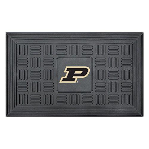NCAA Purdue University Boilermakers 3-D Team Medallion Vinyl Door Mat ()