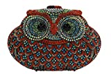 YILONGSHENG Owl Style Diamond Evening Handbags EB0708 Multicolor