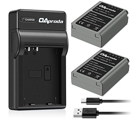 OAproda Replacement Olympus BLN-1 Battery  and Rapid Micro U