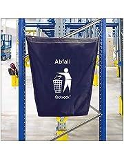 Saco de tela de valor impreso de 120 litros, para fijación de estanterías, saco de rack, 120 Liter, azul, 1