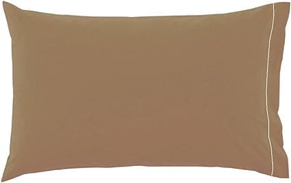 Irge Cuscini.Coppia Di Federe Per Cuscino Guanciale 100 Puro Cotone Tinta