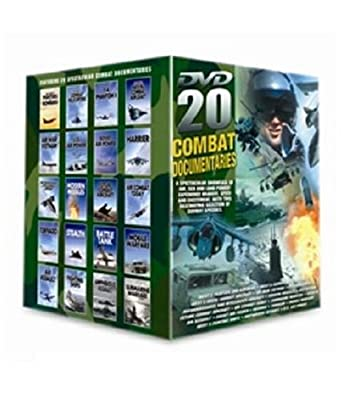 20 Pack: Combat in the Air (including The Wests Fighters & Bombers, Combat Helicopters, F4 Phantom 2, Naval Combat Aircraft, Air War Vietnam, & 15 More) [DVD] [2007]