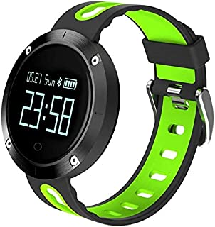 TOP MAX TOPMAX Fitness Tracker Heart Rate Monitor Women Swimming Waterproof Activity Tracker Smartband Sleep Monitor Pedometer Smart Bracelet Wristband for iOS Android 1 Piece Rose Smart Bracelet