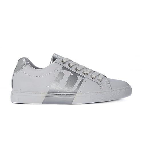 Trussardi Jeans Women's Cross Trainers Silver Silver 3 Silver Size: 3